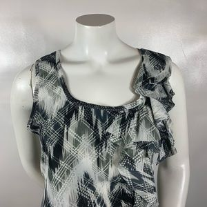 3FOR$20 Gray Blouse Size:XL